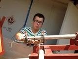模型出管光电测速系统